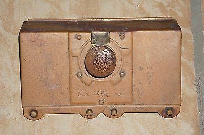 Advance Harmon Coin Operated Front Plate and Mechanism