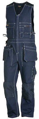 Blaklader Sleeveless Work Overalls with Knee Pad & Nail Pockets - 2650 1370