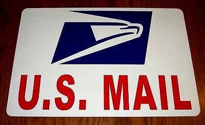 Us Mail Magnetic Sign Quot U S Mail Quot Door Protector 22 00
