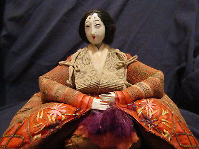 Antique Japanese day doll