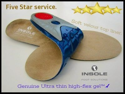 Gel Insoles ,work Boots ,orthotic Foot Arch Support Heel Shoe Gel Inserts Gel