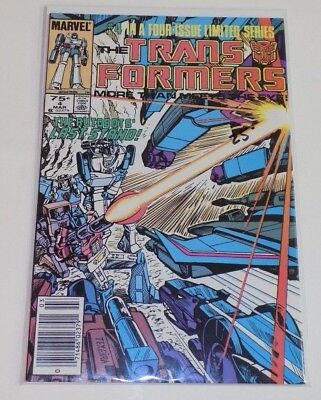 "Transformers #4 ""VF/NM"" -Marvel-"