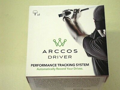 ARCCOS DRIVER Performance Tracking System ~BRAND NEW IN BOX!