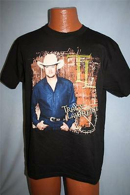 TRACY LAWRENCE 2001 Concert Tour T-SHIRT Medium COUNTRY MUSIC