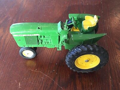 Vintage John Deere 3020 Tractor ~ Collectible Toy ~ Green & Yellow ~ Lot #1