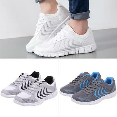 Men's Sneakers Casual Lace Up Breathable Sports Running Sport Gym Shoes Gifts