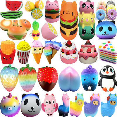 Jumbo Slow Rising Squishies Scented Charms Kawaii Squishy Squeeze Toy Collection