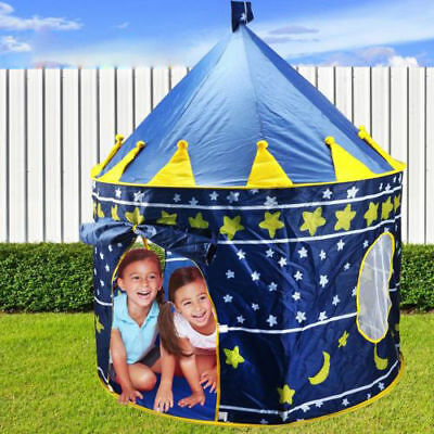 Children Kids Pop Up Play Tent Boys Castle Play House Portable Christmas Gifts  sc 1 st  PicClick & CHILDREN KIDS Pop Up Play Tent Boys Castle Play House Portable ...
