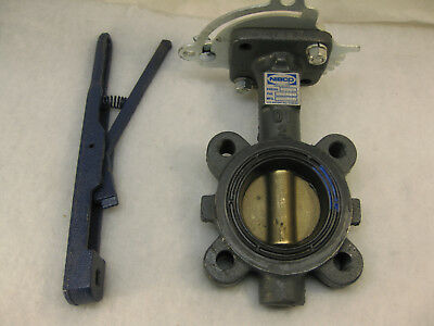 NIBCO LD-2000-3 Series Ductile Iron Butterfly Valve with EPDM NEW OLD STOCK