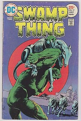 Swamp Thing #17, Very Good - Fine Condition*