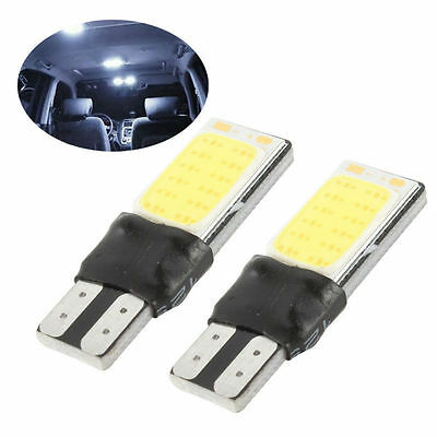 6W LED Bright White COB-T10 Canbus Side Lamp T10 W5W 194 168 Wedge Light Bulb 2