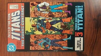 Tales of the Teen Titans #44 (Jul 1984, DC) 1ST NIGHTWING F+/VF