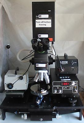 """Micromanipulator 6""""Prober Mitutoyo Microscope Probe Station with Laser Cutter"""