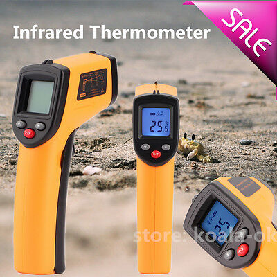 Temperature Temp Meter Gun Non-Contact Digital Laser Infrared IR Thermometer CS