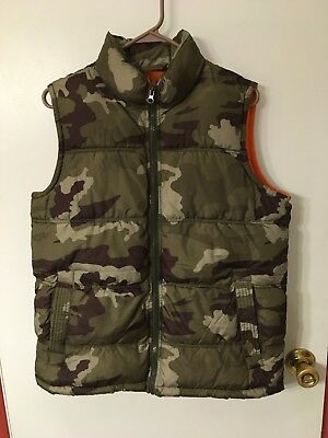 Boys x-large (14/16) Old Navy camo vest