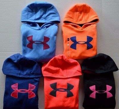 Girl's Youth Under Armour Cold Gear Loose Fit Hoodie Sweatshirt