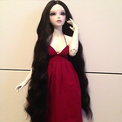 Feeple60 Moe Red Maxi Dress by GYHM Doll Fairyland SD BJD Clothes Feeple 60