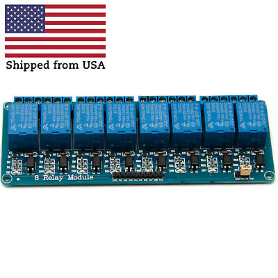 8 Channel 5V Relay Board for Arduino