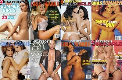 Playboy's  Girls Of ...  Magazine Collection 59 Issues In PDF On DVD + Bonus DVD