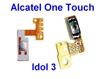 Pour ALCATEL One Touch Idol3  6045 Nappe  du Bouton Touche Power ON/OFF Allumage