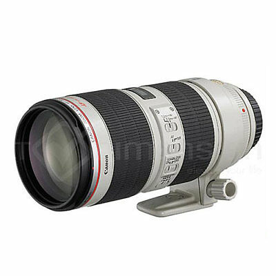 Canon EF 70-200mm f/2.8L IS II USM Lens Ship from US