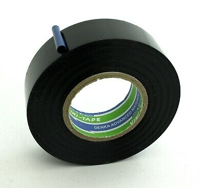 DENKA TAPE Adhesive Vinyl Insulation Fabric Wiring Loom Harness 25m