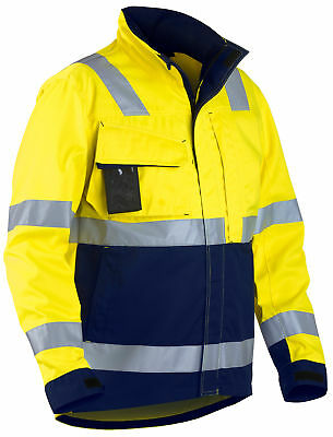 Blaklader Hi Vis Water Repellent Safety Work Jacket - 4064