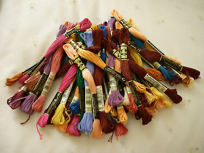 ORIGINAL DMC Threads Pack of  21 skeins   ( Pick Your Own Colours)