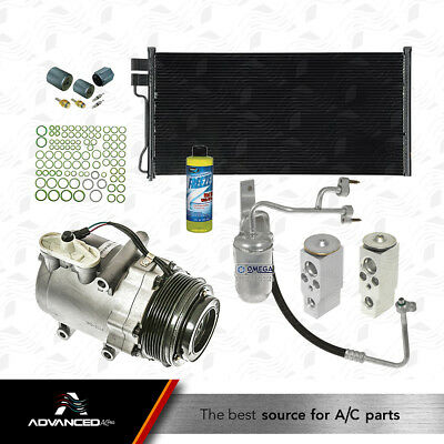 Condenser Kit Fits 05 06 Ford Expedition Lincoln Navigator V8 5.4L W// REAR A//C
