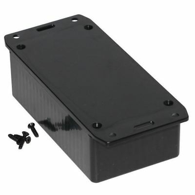 Hammond 1591CSFLBK Multipurpose GPABS Enclosure Flanged Lid 120 x 65 x 40 Black