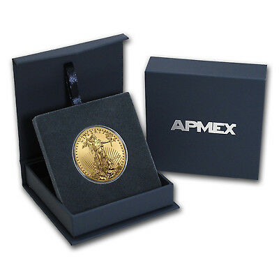2018 1 oz Gold American Eagle BU (w/APMEX Gift Box) - SKU#152915