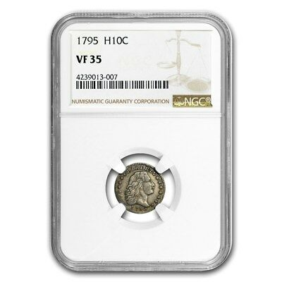 1795 Flowing Hair Half Dime VF-35 NGC - SKU#158303