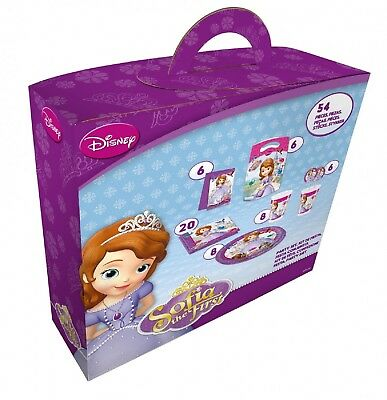 Disney Sofia the First - Party Box - 54-teilig