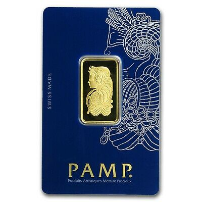 1/2 oz Gold Bar - PAMP Suisse Lady Fortuna Veriscan® (In Assay) - SKU#159919