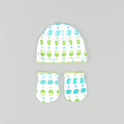 Set gorro manoplas color Blanco marca Tuc Tuc 0 Meses