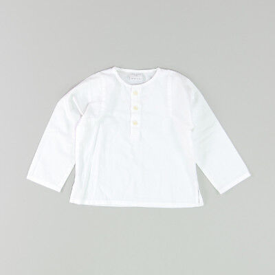 Blusa color Blanco marca Neck & Neck 12 Meses  182812