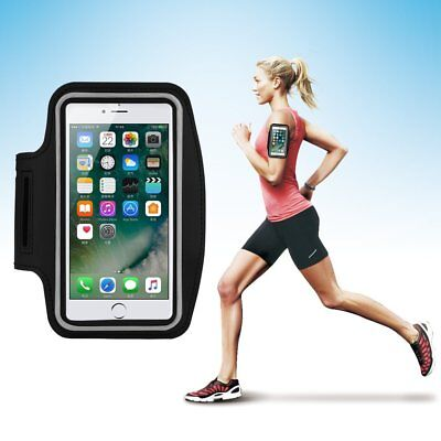 Sports Armband Universal Running Arm Band Workout Cell Phone Bag with Key Holder