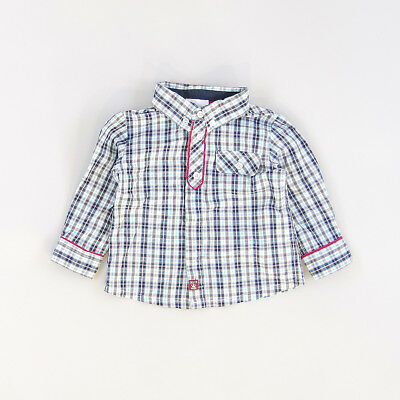 Camisa color Gris marca Chicco 9 Meses  195599