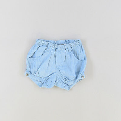 Shorts color Denim claro marca Boboli 9 Meses  201568
