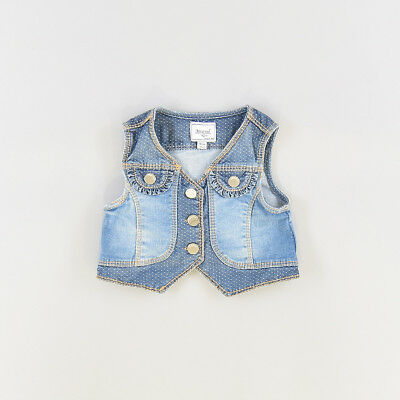 Chaleco color Denim oscuro marca Mayoral 9 Meses  205610