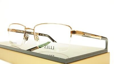 99e0198c8da ZILLI Eyeglasses Frame Acetate Leather Titanium France Hand Made ZI 60014  C01
