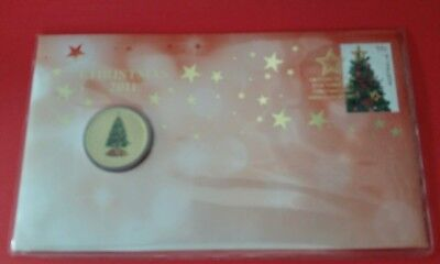 2011 $1 Colorized Coin Pnc Christmas 2011 Brand  New