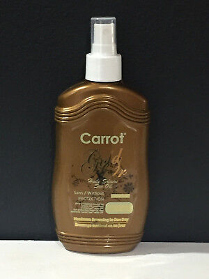 Carrot Oil Tanning Accelerator Spray - Gold
