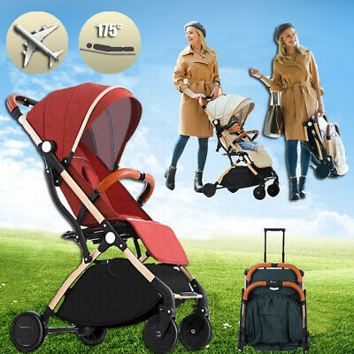 Gary Compact Lightweight Baby Stroller Pram Easy Fold Pushchair Travel  Carry-on
