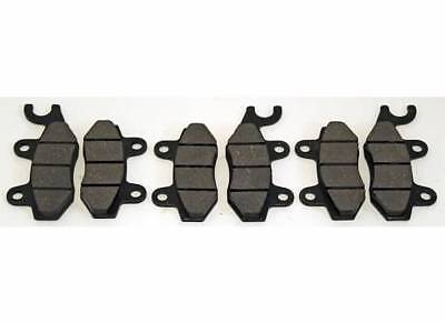 2012 2013 2014 Can-Am Commander 800R EFI XT Front And Rear Brakes Brake Pads