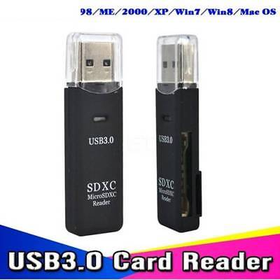 USB 3.0 Flash Memory Micro Card Reader Adapter for Micro SD SDXC TF Card Mini