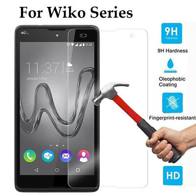 Ultra Slim Front Tempered Glass Screen Protector Cover Film Skin For Wiko Series