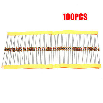 100 PCS 1/4W 0.25W 5% 1 K OHM Carbon Film Resistor 1st Class Postage UK B3