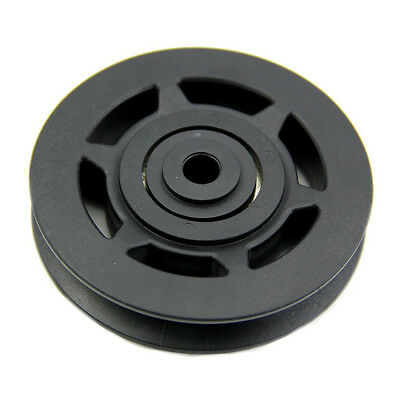 50mm Black Bearing Pulley Wheel Cable Gym Equipment Part Wearproof gym kit BR