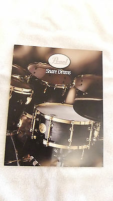 NEW 1996 Pearl Snare Drum Catalog